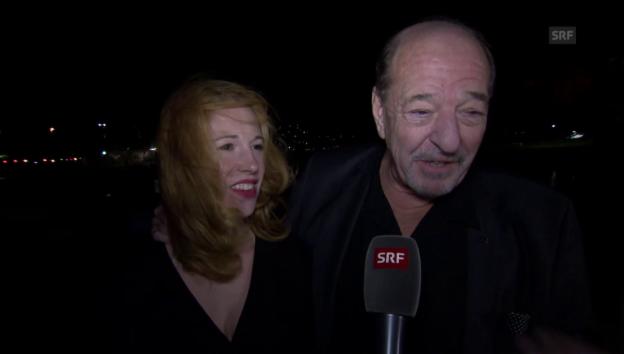 Video «Ralph Siegel und Laura Käfer im Liebesinterview» abspielen