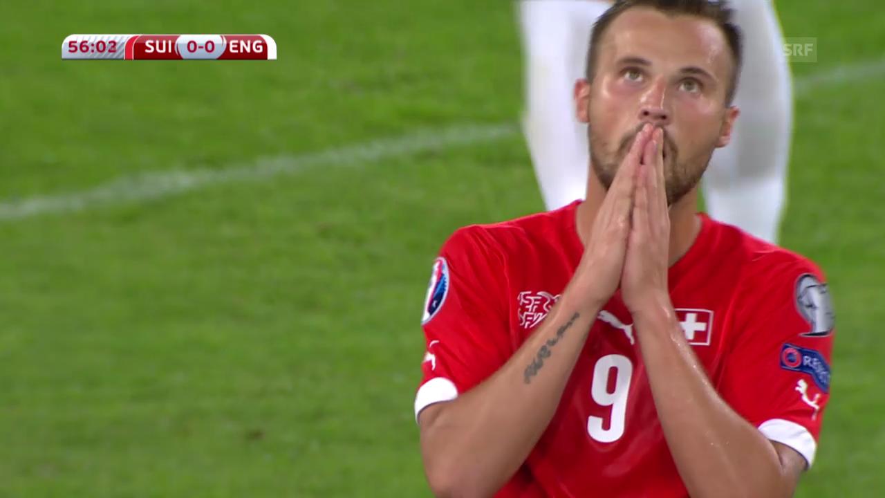 Fussball: Highlights Schweiz- England