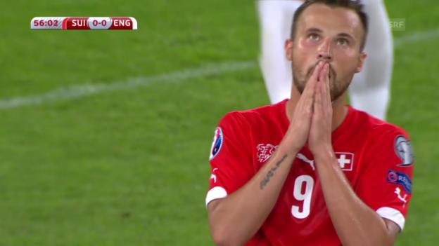 Video «Fussball: Highlights Schweiz- England» abspielen