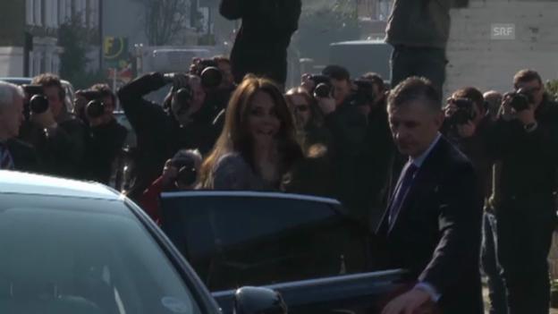 Video «Kate besucht eine karitative Einrichtung in London» abspielen