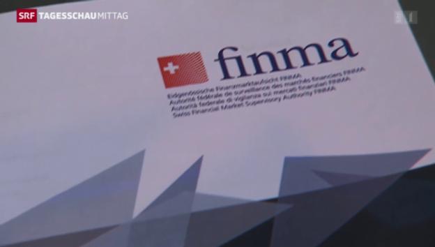 Video «Finma veröffentlicht Bericht über Aufsichtsziele» abspielen