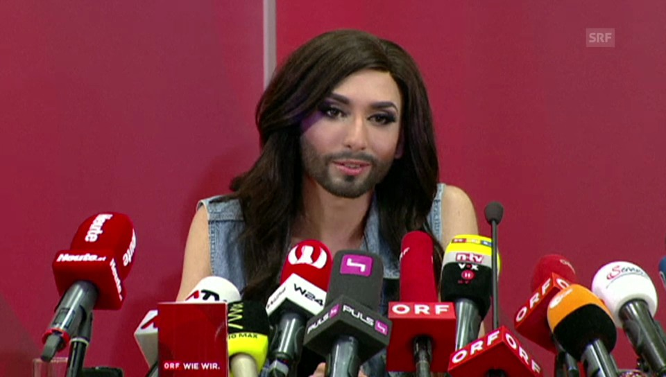 Conchita Wurst und ihr Statement für Toleranz