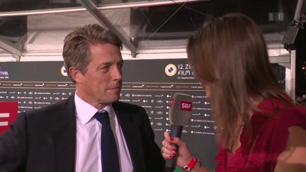 Video «ZFF 2016: Hugh Grant erhält «Golden Icon Award»» abspielen