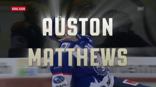 Video «Youngster of the Year: Auston Matthews» abspielen