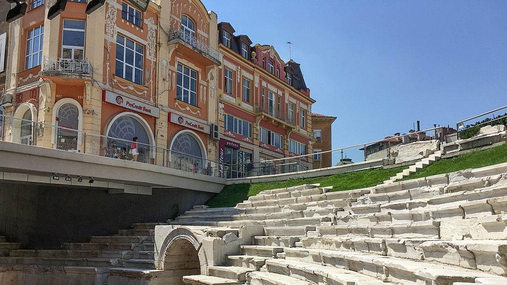 Plovdiv in Bulgarien wird 2019 Kulturhauptstadt