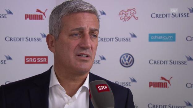 Video «Fussball: Petkovic zu Spielpraxis vs. Qualität» abspielen