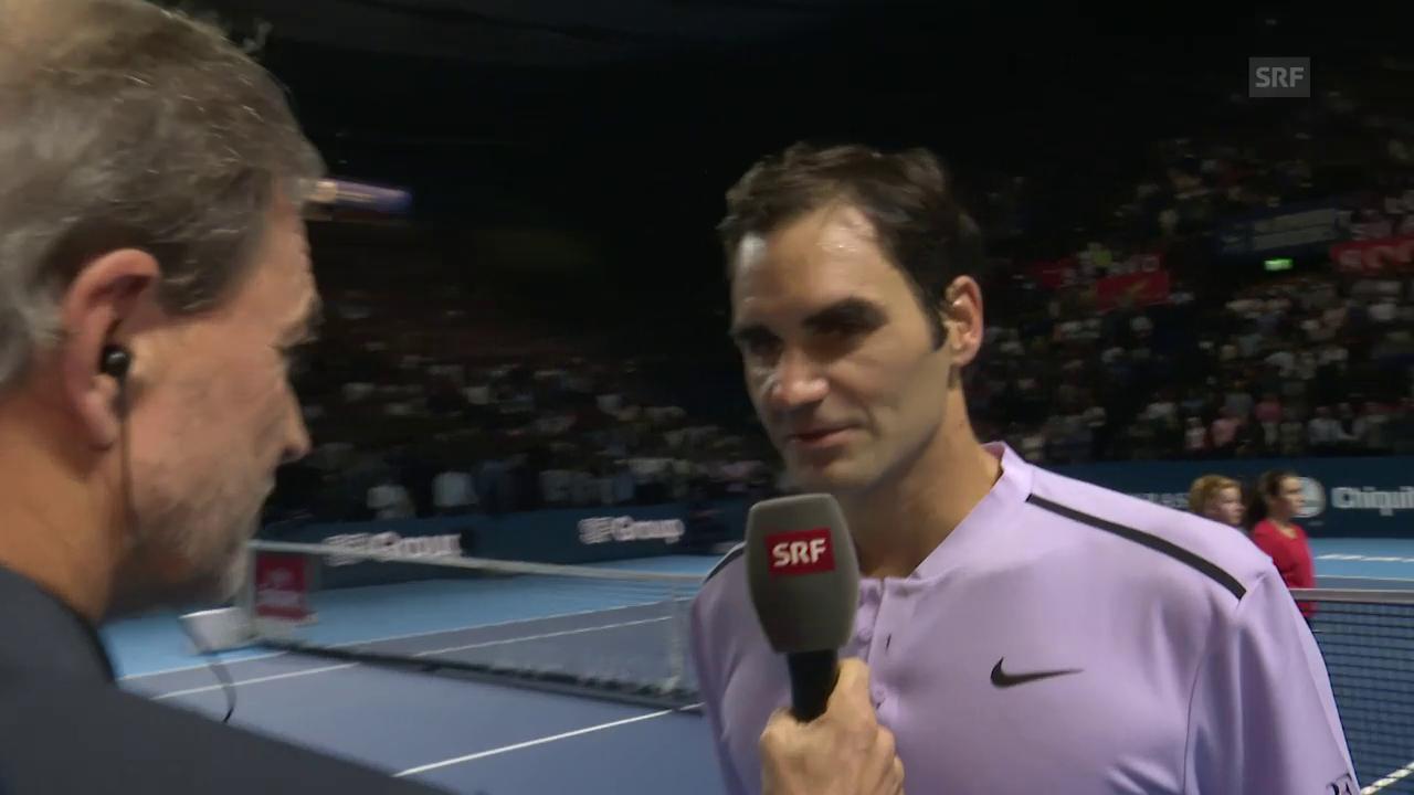 Federers Schlüssel zum Erfolg