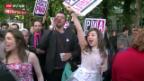 Video «Homo-Ehe in Frankreich eingeführt» abspielen