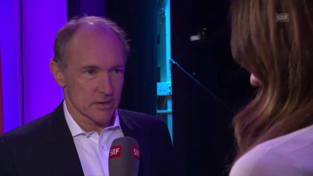 Video «Interview mit Sir Tim Berners-Lee am World Web Forum 2017 (eng.)» abspielen