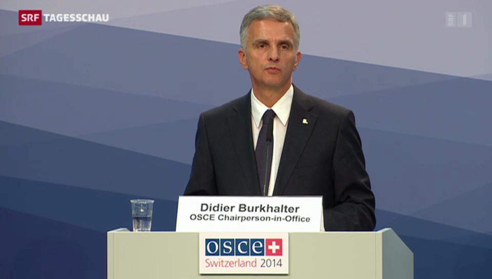 Viel Lob für Didier Burkhalter