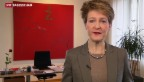 Video «Bundespräsidentin Sommaruga spricht zum Tag der Kranken» abspielen