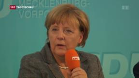 Video «Wahlen in Mecklenburg-Vorpommern» abspielen