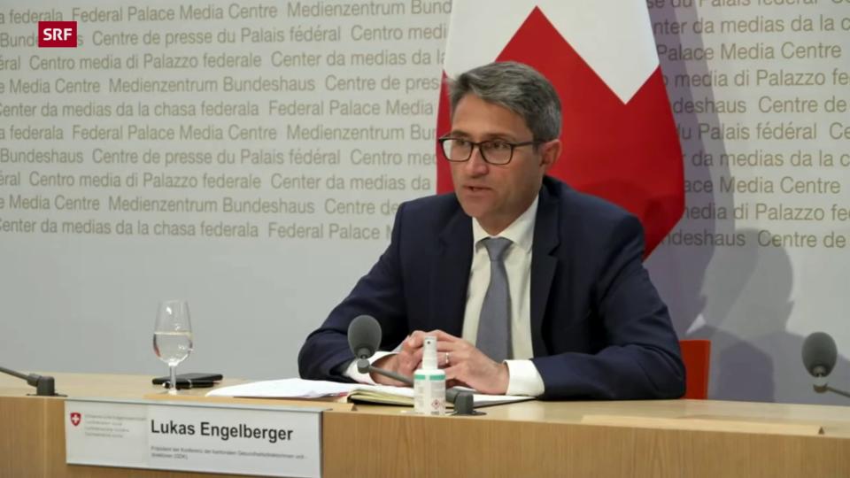 Engelberger: «Die Gesundheitsdirektoren unterstützen die Ausweitung der Zertifikatspflicht mehrheitlich»