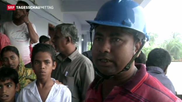 Video «Zyklon bedroht Burma» abspielen