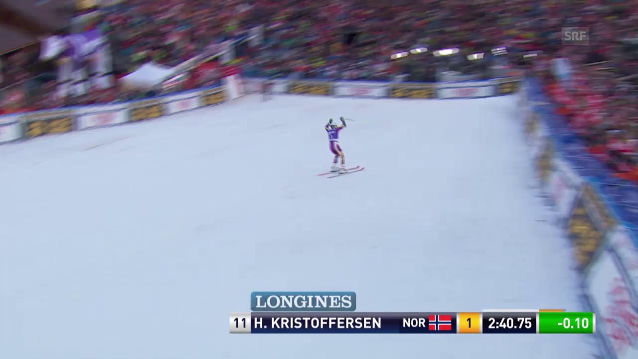 Ski: RS Adelboden, 2. Lauf Kristoffersen