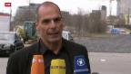 Video «Griechischer Finanzminister bei EZB» abspielen