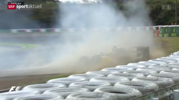 Video «Formel 1: Qualifying GP von Suzuka» abspielen