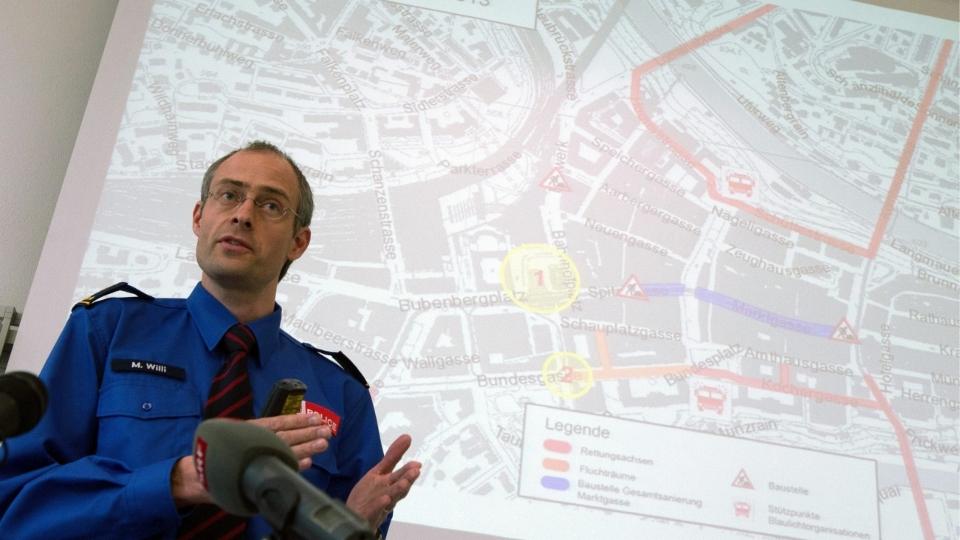 Manuel Willi, Chef Regionalpolizei Bern: «Ab Montag sind wir für die Bevölkerung wieder voll und ganz da»