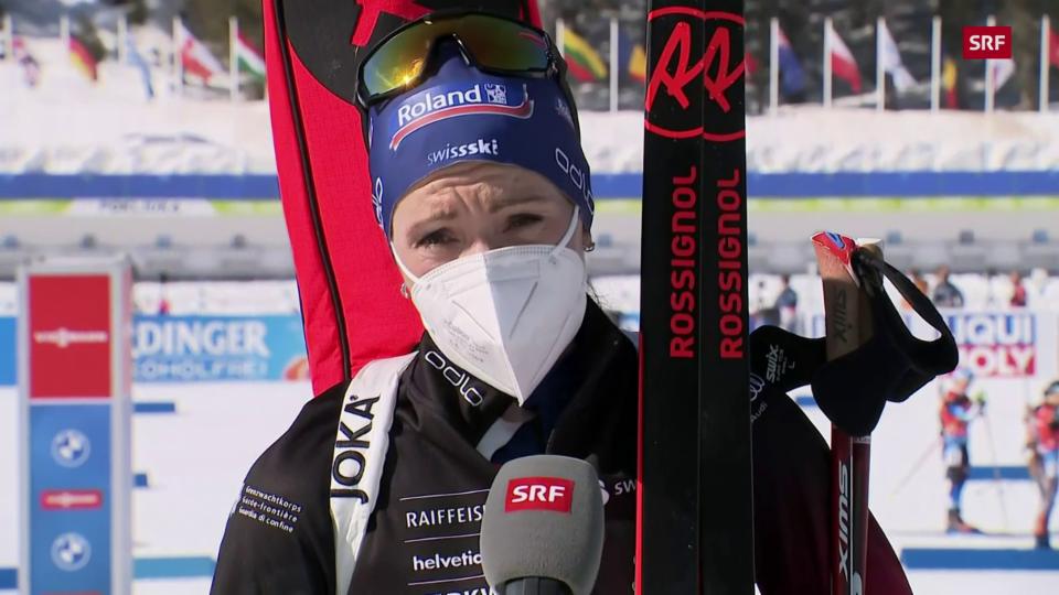 Selina Gasparin: «War eine Qual, das Rennen zu beenden»