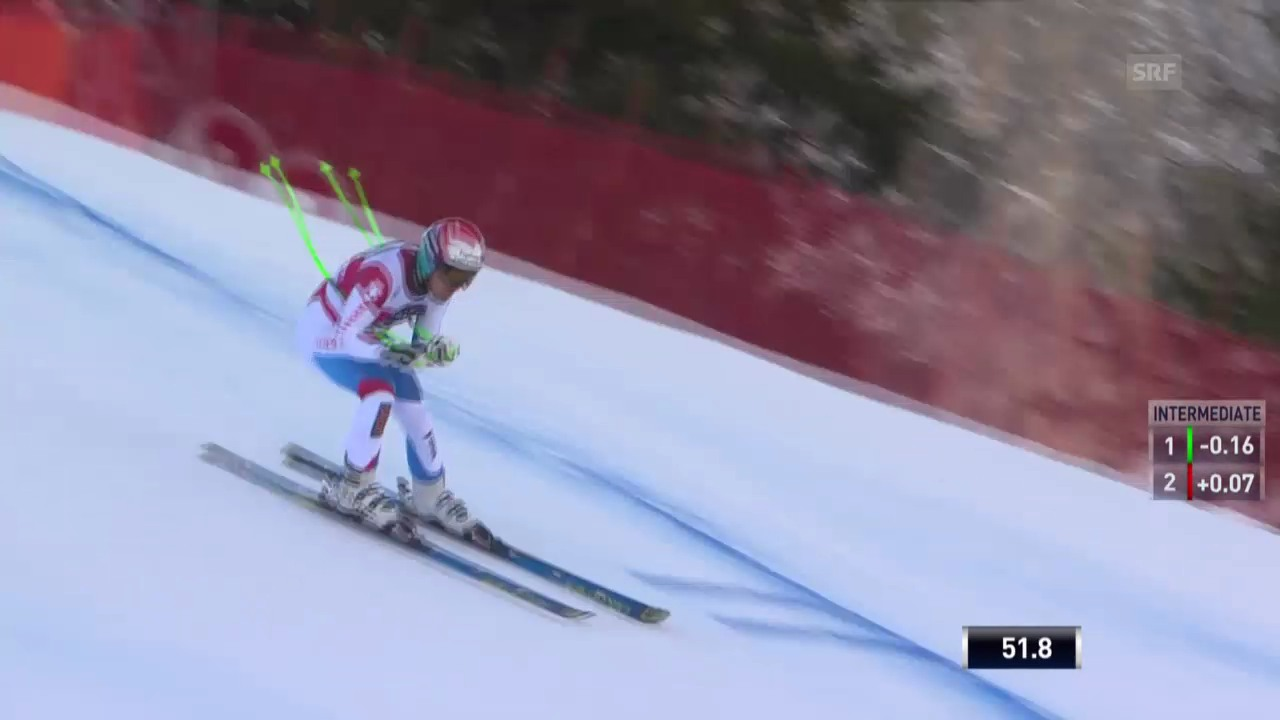 Ski Alpin: Fahrt von Sandro Viletta