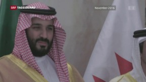 Video «Saudi-Arabien kürt neuen Kronprinzen» abspielen