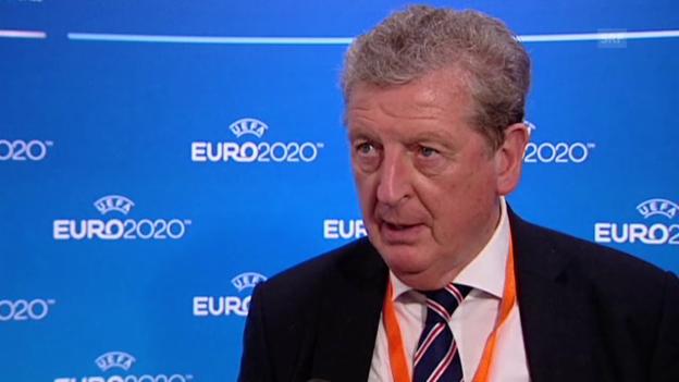 Video «Fussball: EM 2020, Roy Hodgson über den Modus» abspielen