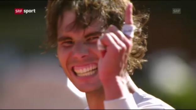 Video «Halbfinal Djokovic - Nadal bei den French Open («sportaktuell»)» abspielen