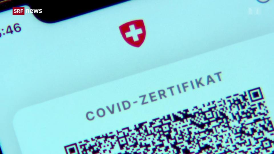 Aus dem Archiv: EU anerkennt Schweizer Covid-Zertifikat