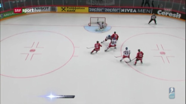 Video «Highlights Schweiz - Tschechien» abspielen