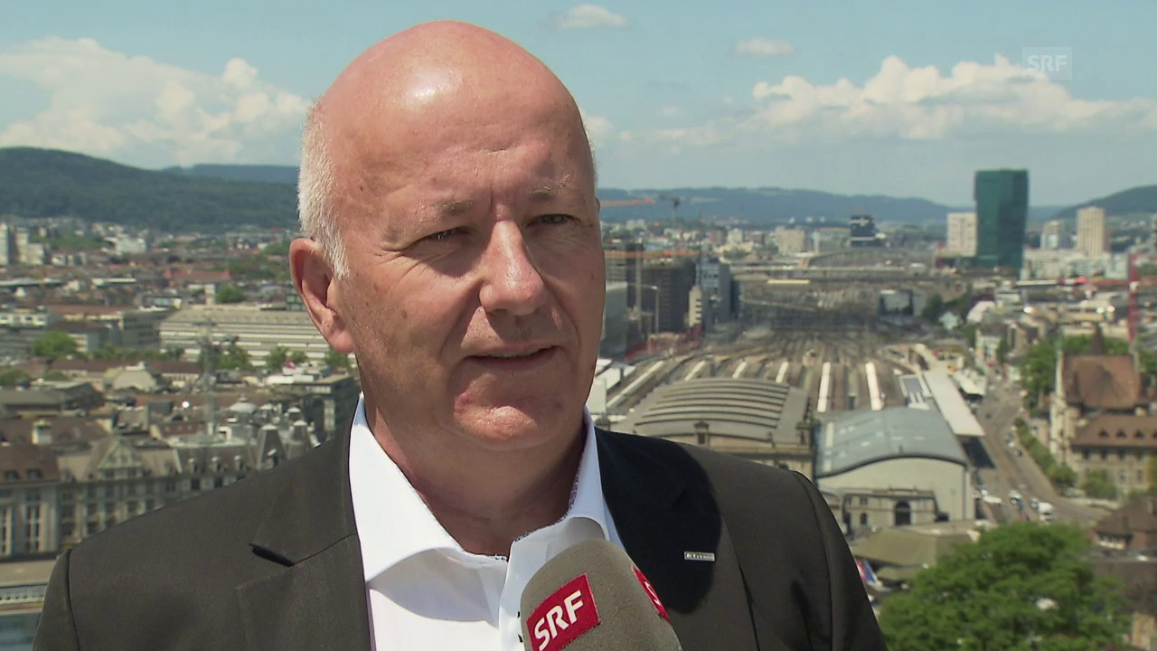 Roland Siegwart zu autonomen Zügen