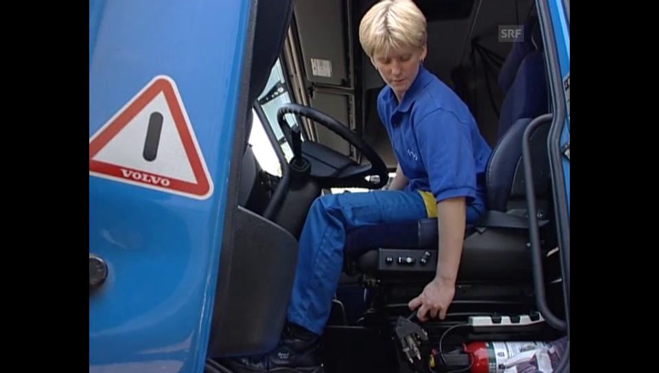 Berufsbild: Lastwagenführerin EFZ
