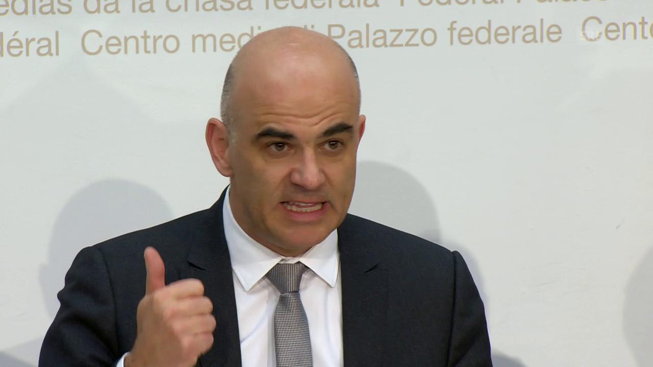 Alain Berset zum Ziel der Reform von 1. und 2. Säule