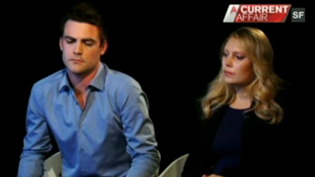 Video «Die beiden australischen Radiomoderatoren äussern sich zum Tod der Krankenschwester» abspielen