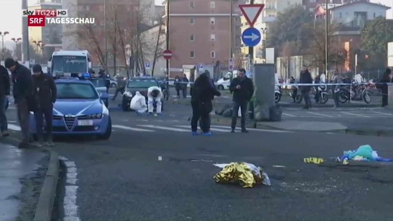 Tatverdächtiger in Mailand erschossen