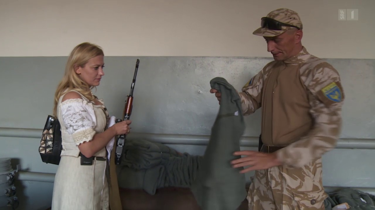 Mit Irina Richtung Krieg