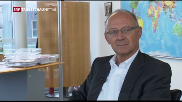 Video «Strafe wegen Insiderhandels gegen Hans Ziegler» abspielen