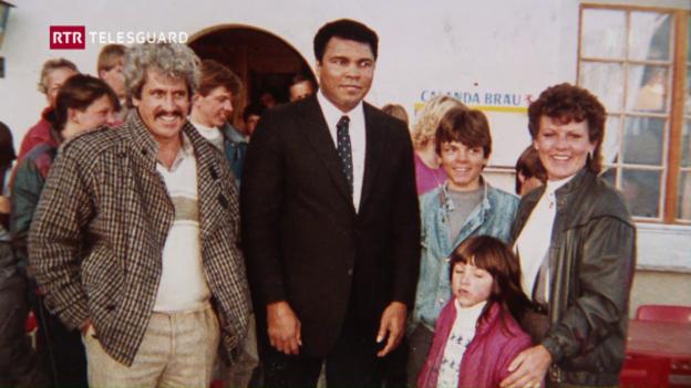 Laschar ir video «Muhammad Ali è stà a Vella»