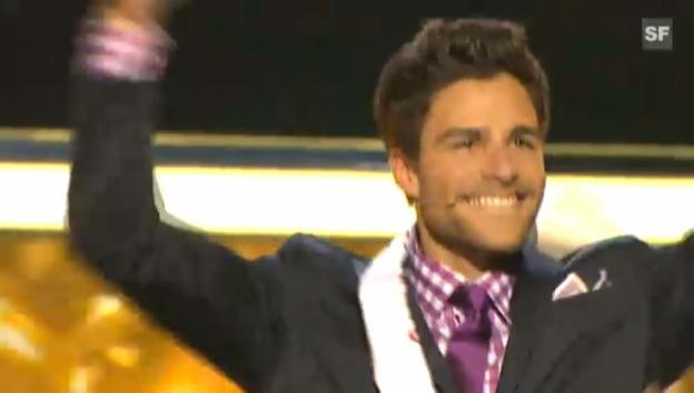 Video «Luca Ruch ist Mister Schweiz 2011.» abspielen