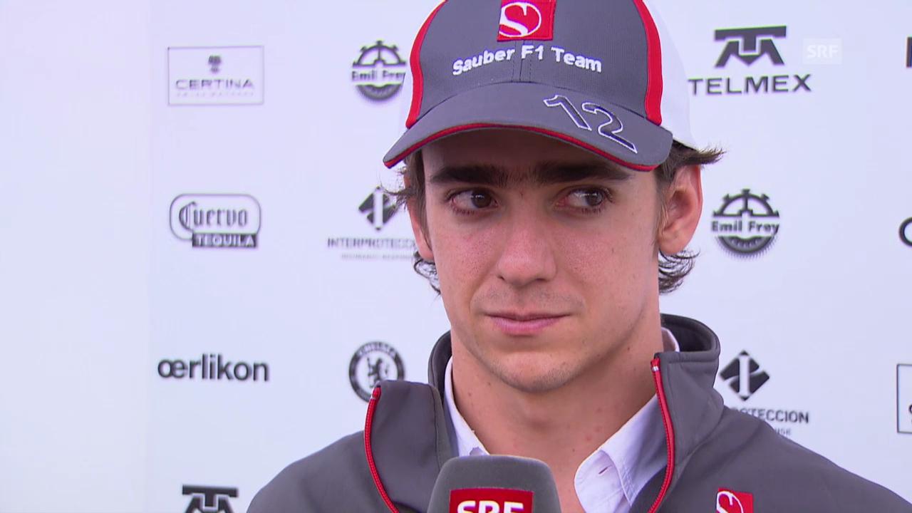 Formel 1: Interview mit Esteban Gutierrez