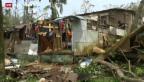 Video «Schwere Verwüstungen nach Zyklon» abspielen