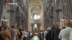 Video «Gedenkfeier für Priester aus Rouen» abspielen