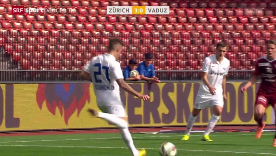 Fussball: Schönbächler düpiert Vaduz-Torhüter Jehle