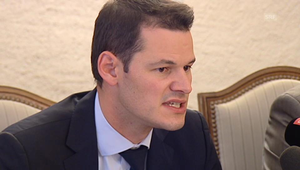 Genfer Regierungsrat Pierre Maudet zum Tötungsdelikt (franz. Originalton)
