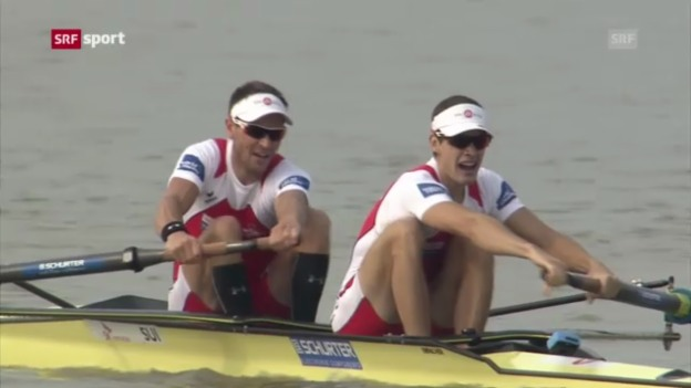 Video «WM-Gold für Tramer/Niepmann («sportaktuell»)» abspielen