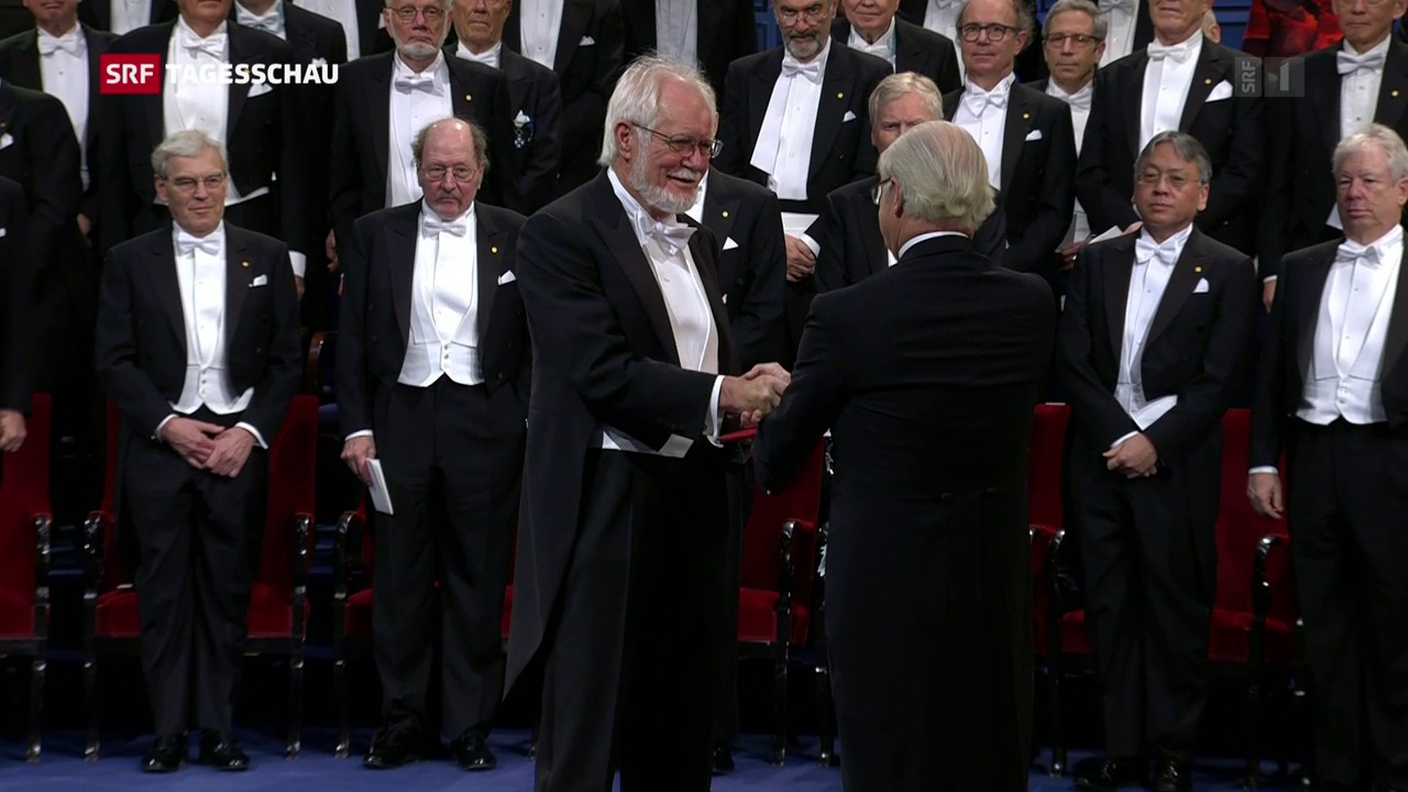 Nobelpreisträger werden gefeiert