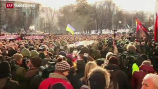 Video «Proteste in Ukraine weiten sich aus» abspielen