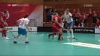 Video «Unihockey: 3. Niederlage für die Schweiz» abspielen