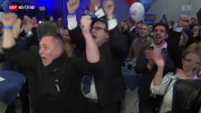 Video «FOKUS: Rechtspopulismus erreicht Deutschland» abspielen