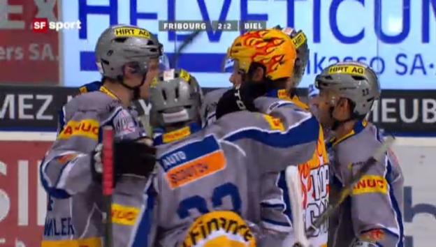 Video «NLA: Fribourg - Biel («sportaktuell»)» abspielen