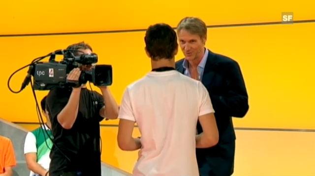 Tipp 1: Der Interviewer ist auch Gastgeber
